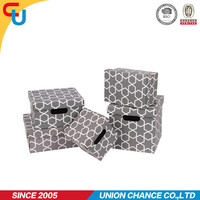 Wholesale Foldable recyclable paper box with color printing for CD/DVD/GROCERY storage home-office
