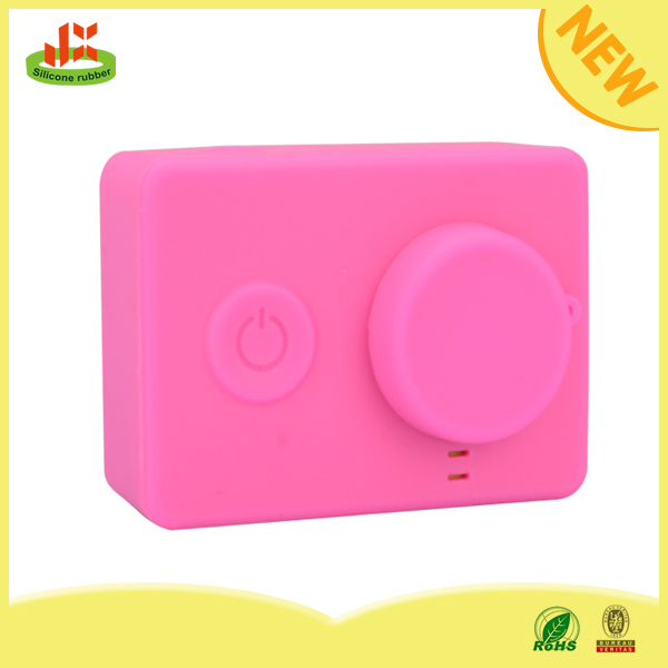 Wholesale customize surveillance camera covers silicone camera lens cover security camera dome cover
