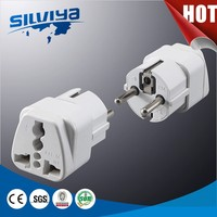 2 pin euro schuko plug adaptor multiple plug adapt