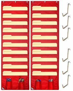 Pocket Chart 24 Folder Clroom Behavior Management Attendance Daily Schedule