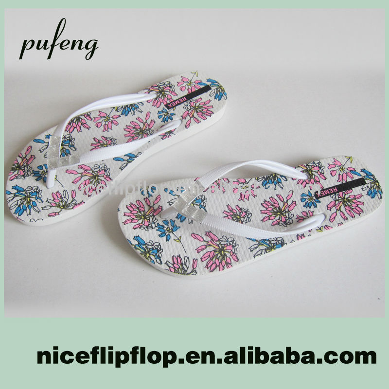 PB15-1978 fashion lady bridal flip flops