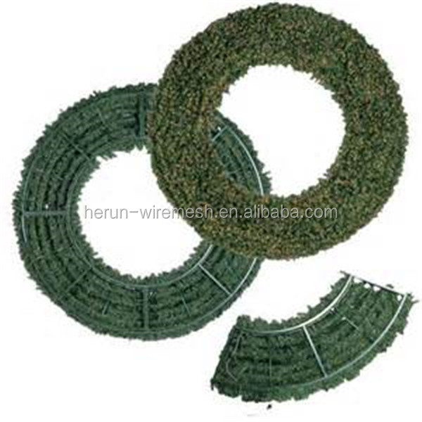 hr wholesale metal wire wreath frames for christmas tree - Wire Wreath Frame