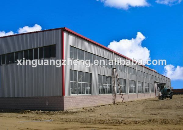 2014 new design portal frame steel structure workshop for storage