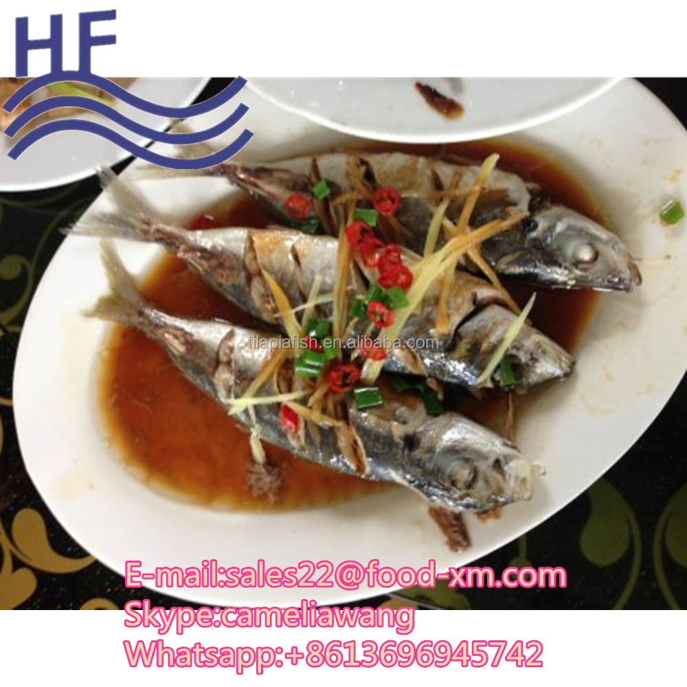 all types farm horse mackerel fish food product