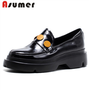 Asumer hot sale fancy casual women flat ladies casual shoes