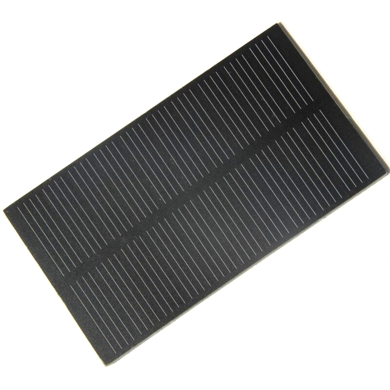 BUHESHUI 1W 5V 107*61mm Small Solar Panel PET Mini Solar Panels Monocrystalline Silicon Solar Cells Educational Kits Green Power