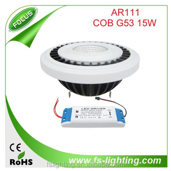 hot products in the market in 2015 15w led GU10 beautiful AR111