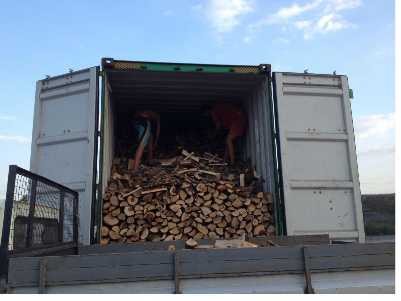 Firewood for Cyprus