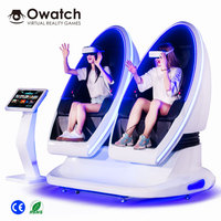 Most Profitable 9d VR Interactive Technology 9d Cine Theater Box