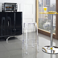 Discount furniture chair acrylic bar stool PC-103A3