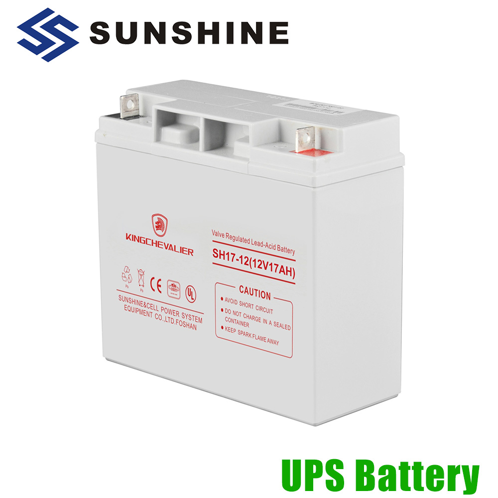 Safe And Easy for Use and Transportation Battery Battery 12V 17Ah