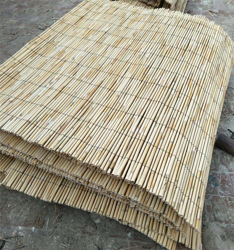High Quality Natural Rolled Bamboo Reed for Making Reed Mat, Reed Fence