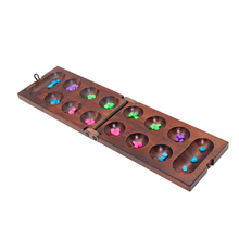 Fabriek direct Houten <span class=keywords><strong>tafel</strong></span> game mancala bordspellen draagbare games