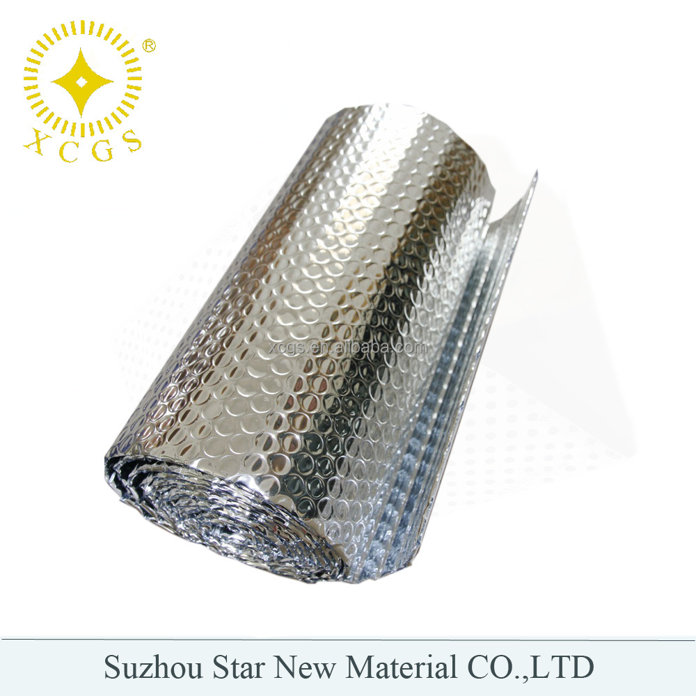 Thermal Insulation Aluminum foil PE Bubble Heat Insulation Material/Roll