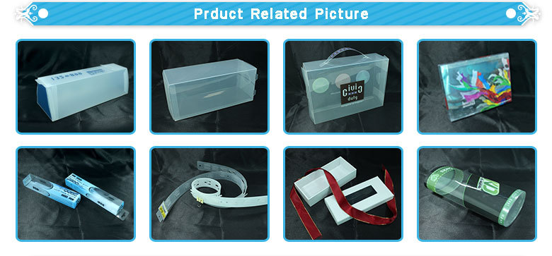 personal Cosmetic tray fold clear plastic packaging