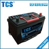 Super power high quality 12v 75Ah JIS standard vehicle battery