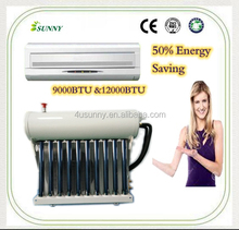 Hot and Cold Hybrid Solar Air Conditioner Ductless Split Air Conditionging with R410A