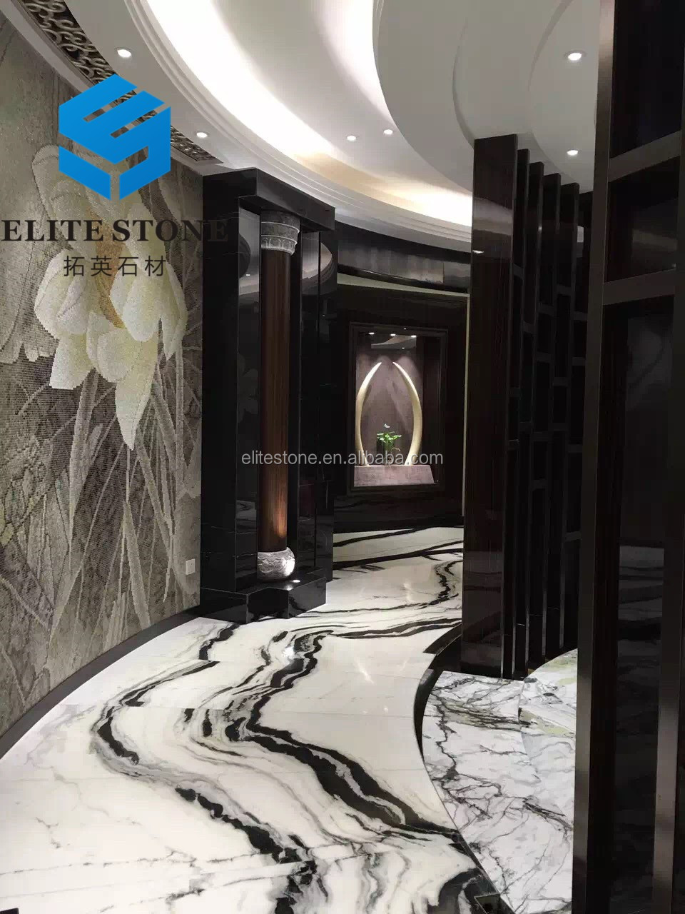 China Panda White Marble Price For Flooring Tiles And Wall