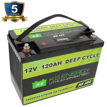 Rechargeable lifepo4 deep cycle lithium battery 12v 120ah