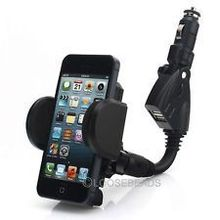 Universal Dual USD 3.1 Car Charger Holder Power Mount