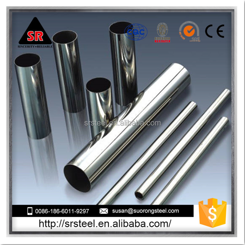 Good Sale ! hot rolling 316/316l stainless steel pipes for construction