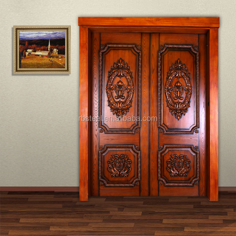 Top selling teak wood main door modern designs for home for Big main door designs