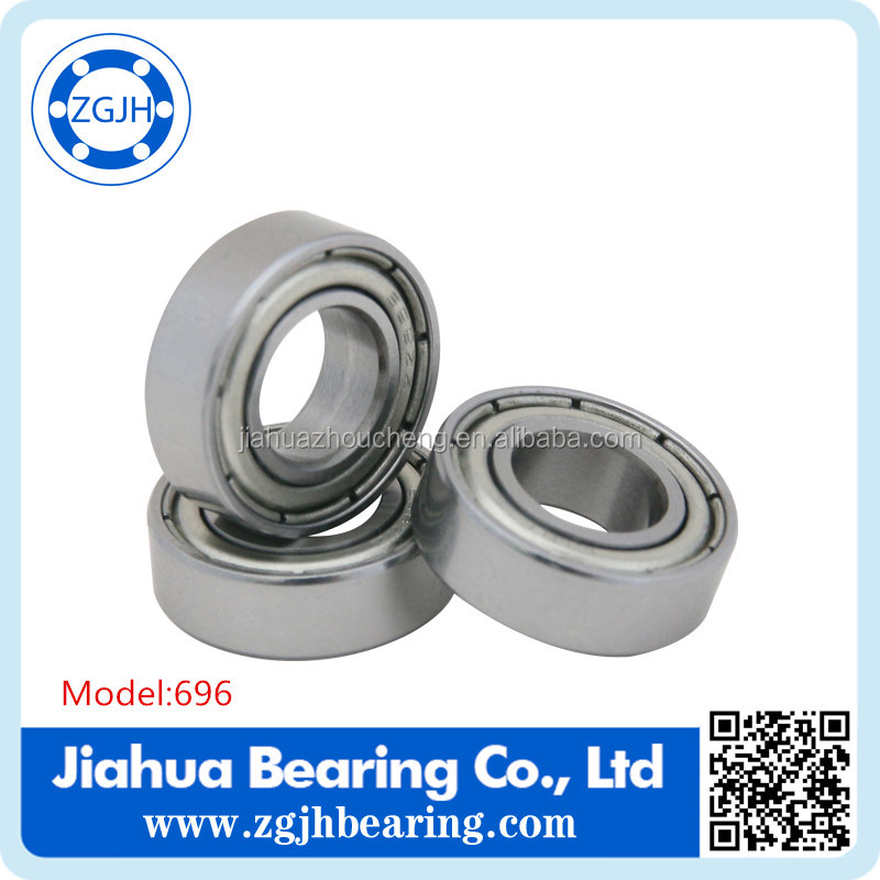 Grc15 ball bearing 696ZZ RS open Mini ball bearing for eletric bicycle bearing