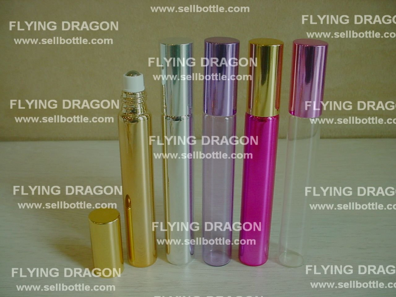 15ml roll on perfume glass bottle, eyes serum roll on bottle