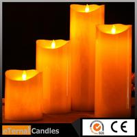 Professional remote control smart living flameless led candles angel healing candle