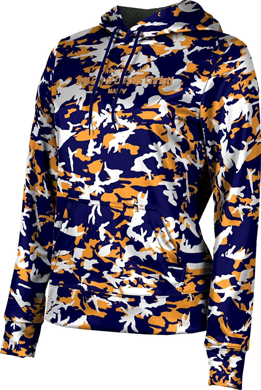 Girls' USS City of Corpus Christi Military Camo Hoodie Sweatshirt (Apparel)