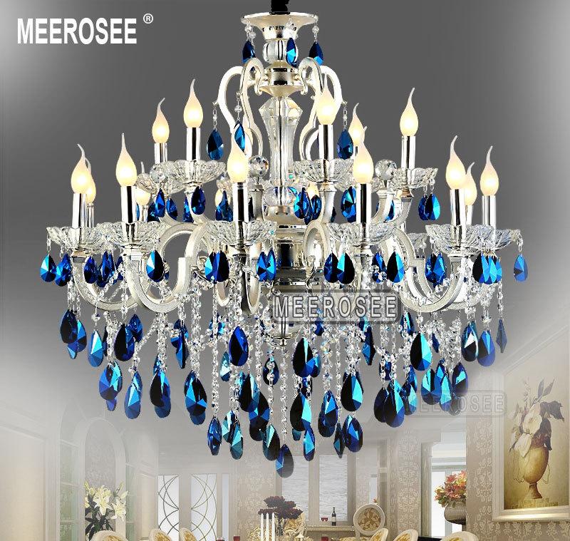 light dia crystal droplight lighting chandeliers chandelier blue rgb ceiling lamp product modern led pendant