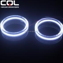 80MM 95MM full circle 3014 SMD CCFL RGB Led Angel Eye Halo Ring,Dual colors led and ccfl angel eyes halo rings