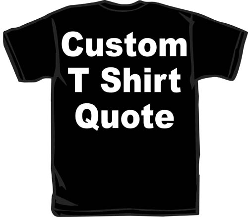 T Shirt Printing Quote, T Shirt Printing Quote Suppliers and ...