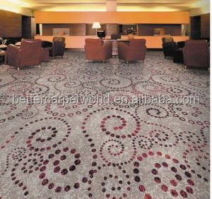 small pearl moving in side nylon printed carpet for hotel luxury banquet hall