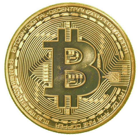 Cheap zinc alloy 3d customized gold silver bronze plated bitcoin challenge coin