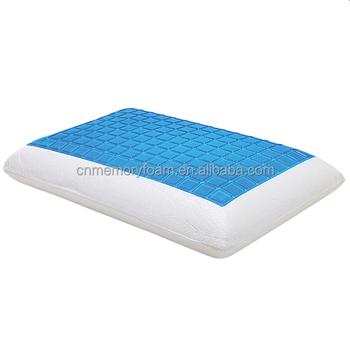 Gel Memory Foam Ergonomic Pillow With Neck Support High