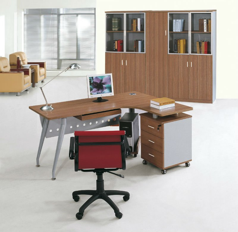 High Quality Upscale Modular Office Furniture Boss Secretary Manager Executive Desk Modern Table