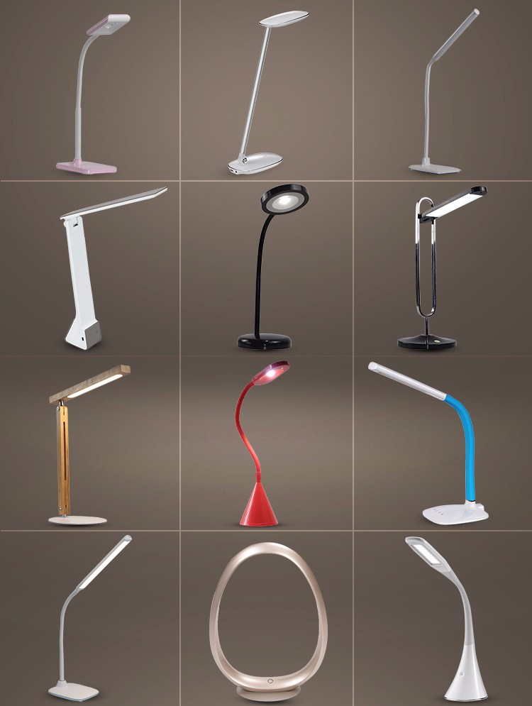 2019 Wholesale modern design micro USB dimmable led table desk lamp