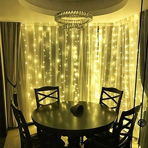 OEM LED safety color changing window infrared curtain wall string lights