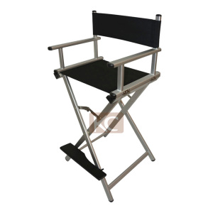 Portable Salon Chair make up chair, salon styling chair portable barber chair, aluminum fashion director chair