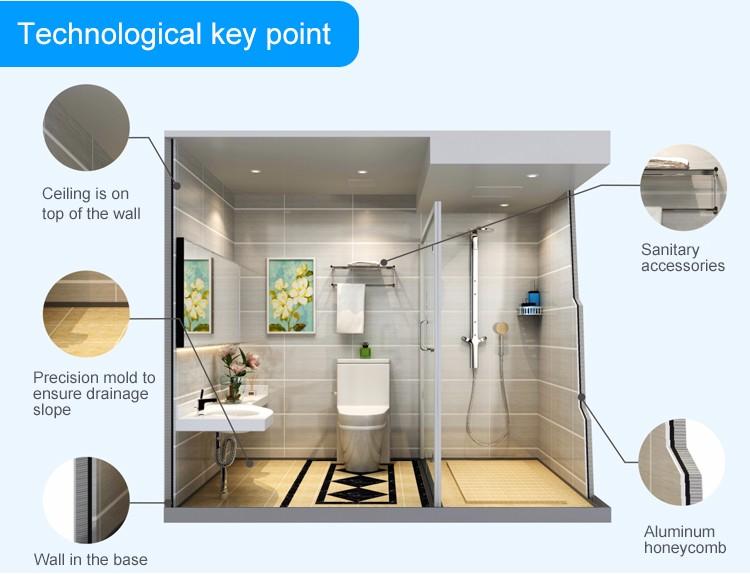 Bathroom Accessories In Sri Lanka guangzhou honlley modern bathroom modular sri lanka prefab houses