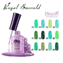 Free shipping Royal Emerald Series 12 pcs Inail Gel Nail Polish 15ml 12 colors for choice