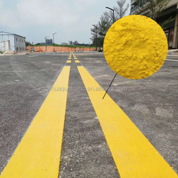 High Reflective Thermoplastic Yellow Traffic Road Line Marking Paint - Buy  Road Line Marking Paint,Traffic Line Paint,Yellow Road Paint Product on