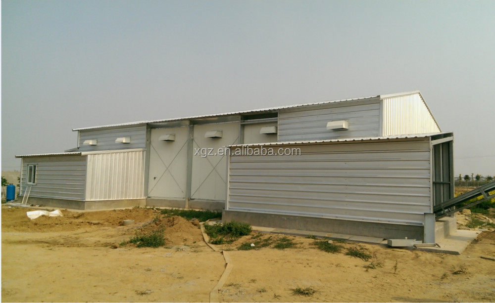 High Strength Chicken poultry shed design
