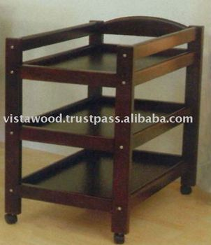 High Quality Wooden Baby Change Table Malaysia
