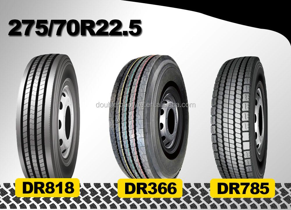 Long Haul Manufacturer 275/70r22.5 Semi Truck Tire Carrier