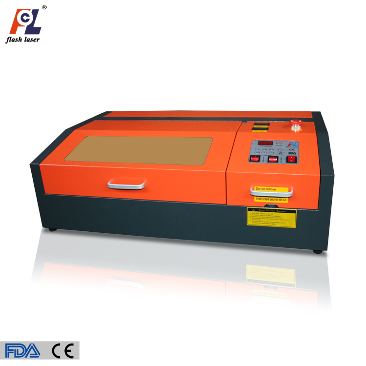 professional rubber stamp mini laser engraving machine