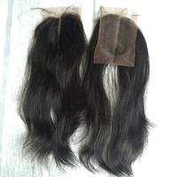 Kinky Straight Human Hair Ponytail Best wholesale body Raw hair brazilian human hair bundles Natural color weave double drawn
