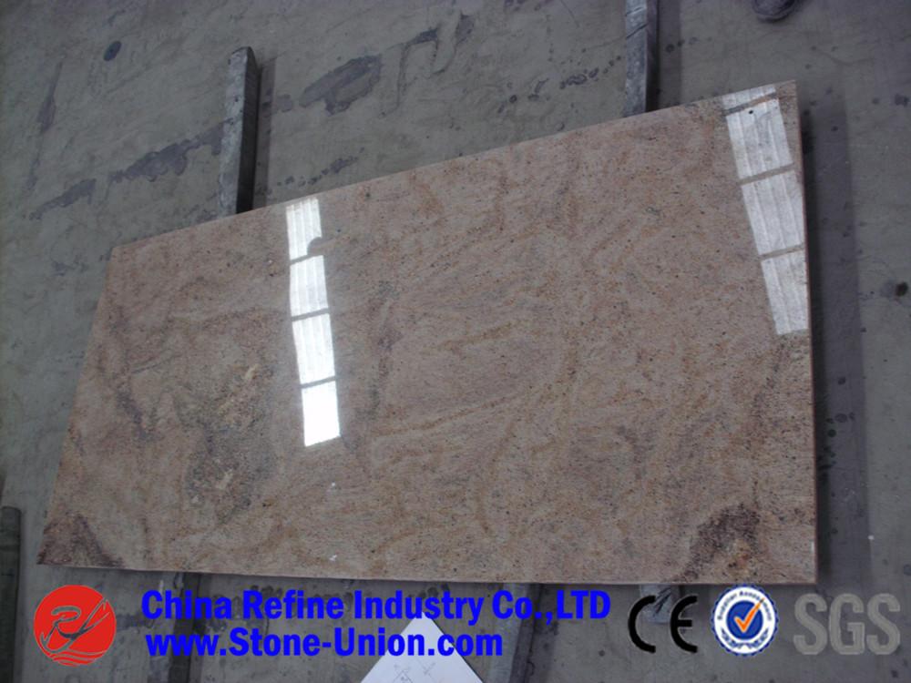Kashmir gold granito piastrelle per pavimenti kashmir gold granito