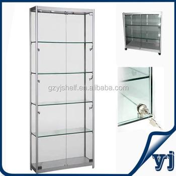 Gzy J008 Factory Customized Made Floor Standing Modern Gl Display Cabinet Artwork